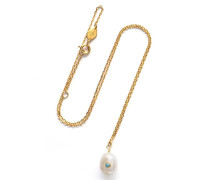 Halskette Baroque Pearl Necklace Turquoise