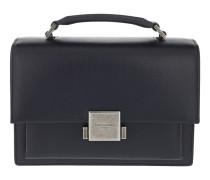 Bellechasse Schoolbag Medium Navy Satchel Bag