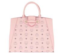 Tote Essential Visetos Bag Medium Powder Pink