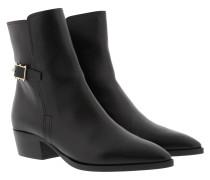 Rockstud Ankle Bootie Black Schuhe