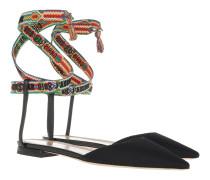 Jadior Slingback Flats Black/Multi Sandalen