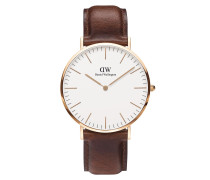 Uhr Classic St Mawes 40 mm Brown