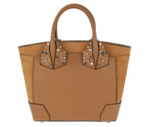 Eloise Small Handle Bag Leather Safari Tote