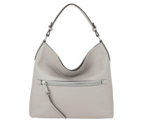 Hobo Bag Calf Adria Zip Stone
