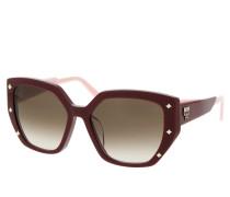 Sonnenbrille MCM674SA Bordeaux rot