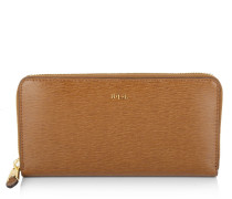 Tate Zip Wallet Lauren Tan/Cocoa