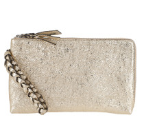 Terenz Leather Wallet Handstrap White / White Clutch