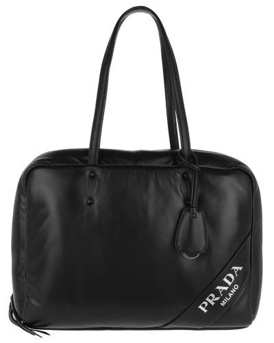 Padded Tote Bag Large Black Tote