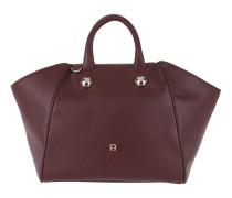 Crush Handbag Burgundy Tasche
