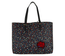 Super Tommy Tote Star Print Print/Tommy Red rot