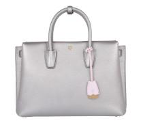 Tasche - Milla Tote Large Silver - in silber - Henkeltasche für Damen