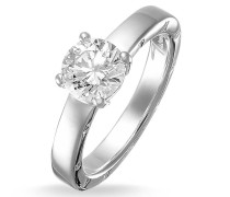 Ring Solitaire Silver