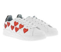 Sneaker Hearts White Sneakers