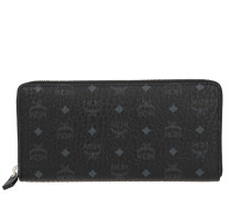 Portemonnaie Visetos Original Zipped Wallet Large Black schwarz