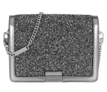 Jade MD Gusset Clutch Lt Pewter Clutch