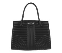 Diagramme Tote Calfskin Leather Black Tote