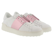Sneakers Bicolor Rockstud Sneaker White/Water Rose