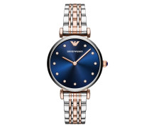 Uhr AR11092 Dress Watch Silver/Roségold silber