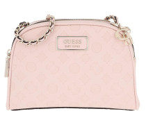 Umhängetasche Logo Love Crossbody Bag Top Zip Blush