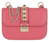 Rockstud Lock Small Shoulder Bag Shadow  Tasche
