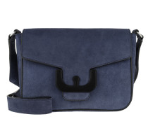 Umhängetasche Ambrine Cross Suede Crossbody Bag Ink blau