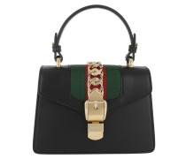 Sylvie Mini Bag Leather Nero Tasche