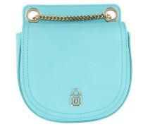 Leather Crossbody Bag1 Queen Azure Tasche