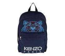 Kanvas Tiger Medium Backpack Navy Blue Rucksack