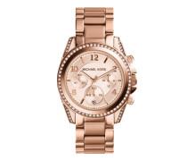 MK5263 Blair Chronograph Watch Rose Gold-Tone Uhr