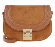 Trisha Suede Small Shoulder Bag