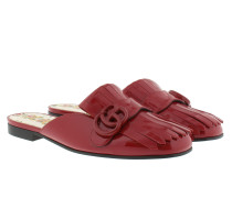 Marmont Patent Slipper Red Schuhe