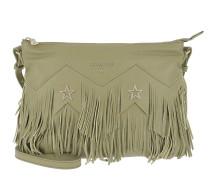 Fringed Shoulder Bag Daily Green Tasche