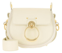 Umhängetasche Tess Shoulder Bag Small Leather White