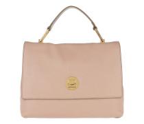 Liya Handle Bag 2 Pivoine/Taupe Satchel Bag
