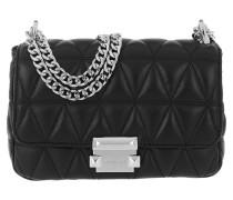 Sloan SM Chain Shoulder Bag Black Tasche