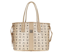 Shopper Liz Visetos Metallic Shopping Bag Medium Berlin Gold