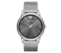 Uhr AR11069 Mens Metal Watch Silver