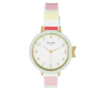 Fashion Park Row Silicone Watch Rosegold Armbanduhr
