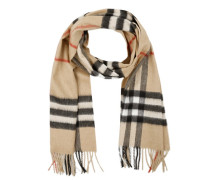 Giant Icon Cashmere Scarf Camel Check Accessoire