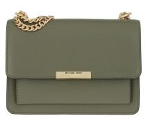 Umhängetasche Jade Large Gusset Shoulder Bag Army Green