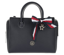 Charming Tommy Satchel 2 Navy Tote