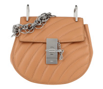 Drew Bijou Mini Quilted Leather Blush Pink Tasche