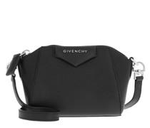 Umhängetasche Nano Antigona Crossbody Bag Goatskin Black