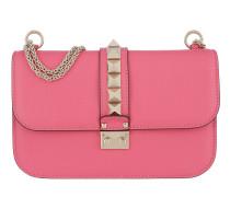 Rockstud Lock Shoulder Bag Medium Bright  Tasche