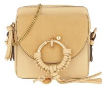 Umhängetasche Joan Camera Bag Leather Straw Beige beige