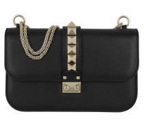 Umhängetasche Rockstud Medium Shoulder Bag Black schwarz