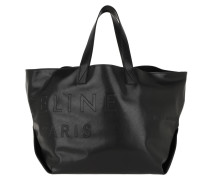 Medium Made In Tote Leather Black Shopper
