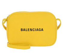 Umhängetasche Everyday Camera Bag XS Leather Jaune Soleil/Noir gelb