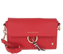 Heritage Leather Crossover Tommy Red Tasche