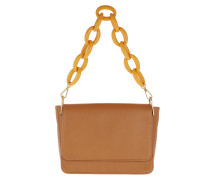 Satchel Bag Camilla Saddle Cuoio